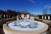 Avalon fountain at entrance