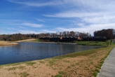 Avalon condos overlooking pond