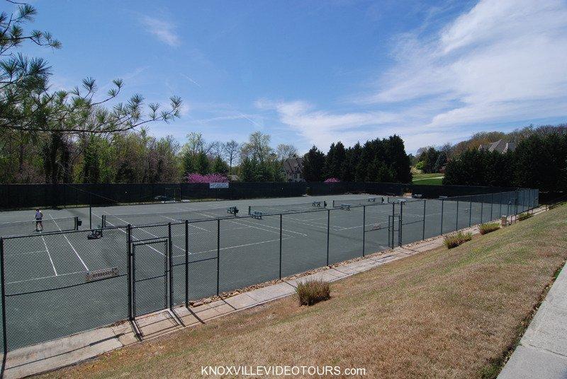 Fox Den Knoxville tennis courts
