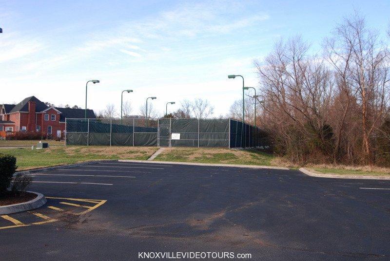 Fox Run Knoxville tennis court