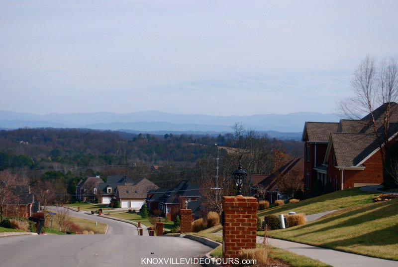 Fox Run Knoxville Smoky Mountain view