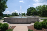 Sequoyah Hills fountain