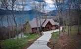 Log home at Center Hill Lake
