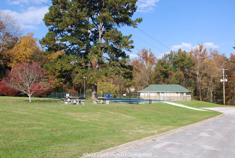 Village Green pool on S Monticello Dr