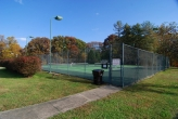 Village Green tennis courts on S Monticello Dr
