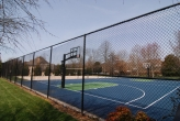 Whittington Creek basketball & volleyball court