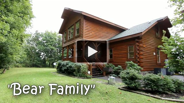 Bear Family | 5BR/5BA | Sleeps 14 | Gatlinburg group lodging