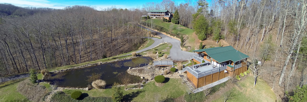 Walk-through video of Smoky Mountain estate with guest home on 5+ acres